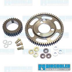 Camshaft Gear Set, Straight Cut, Adjustable, Steel