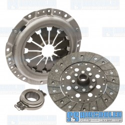 Clutch Kit, 200mm, Stock, Rigid Center Disc, Late Release Bearing, China