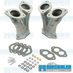 Intake Manifold Kit, 36-48mm IDF/DRLA/HPMX, Dual Port, Straight, EMPI