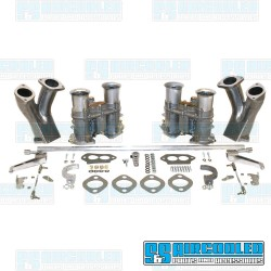Carburetor Kit, 48mm EPC, Dual, Hex Bar Style Linkage, EMPI