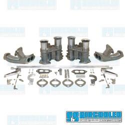 Carburetor Kit, 51mm EPC, Dual, Hex Bar Style Linkage, EMPI