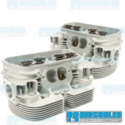 Cylinder Heads, 42x37.5mm, 94mm, Dual Springs, CNC Stage-2 Wedge-Port, EMPI