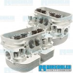 Cylinder Heads, 42x37.5mm, 94mm, Dual Springs, CNC Stage-3 Wedge-Port, EMPI