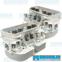 Cylinder Heads, 44x37.5mm, 94mm, Dual Springs, CNC Stage-3 Wedge-Port, EMPI