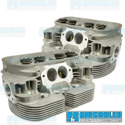 Cylinder Heads, 40x35.5mm, 94mm, Dual Springs, L5 CNC Ported, EMPI