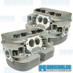 Cylinder Heads, 44x37.5mm, 90.5/92mm, Dual Springs, L7 Turbo CNC Ported, EMPI