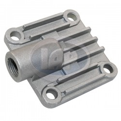 Oil Pump Cover, 8mm Studs, Full Flow Style, Aluminum