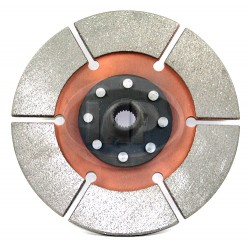Clutch Disc, 200mm, 6-Puck, Black Magic Style