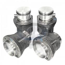 Piston & Cylinder Set, 87 x 69mm, Cast, Slip-In