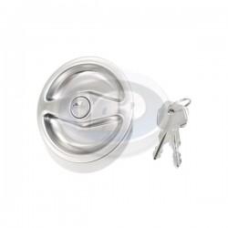 Gas Cap, Locking, Metal
