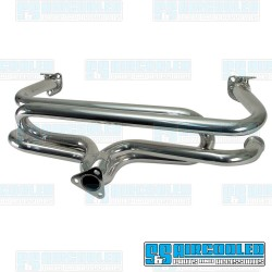 Exhaust Header, 1-3/8in, Ceramic Coated