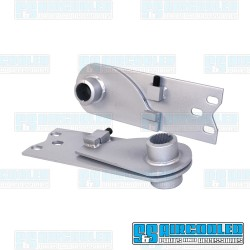 Adjustable Spring Plates, 1-1/4in Collar, 21-3/4in Torsion Bar, IRS Axle, Silver, EMPI