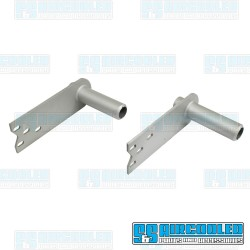 Spring Plates, 6-1/8in Collar, 26-9/16in Torsion Bar, Heavy Duty, IRS Axle, Silver, EMPI