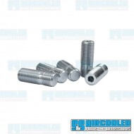 Wheel Stud, M12-1.5 to M12-1.5, 40mm, Screw-In Style