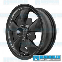 Wheel, GT-5, 5 Spoke, 15x5.5, 5x112 Pattern, Matte Black