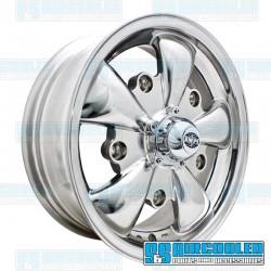Wheel, GT-5, 5 Spoke, 15x5.5, 5x205 Pattern, Polished