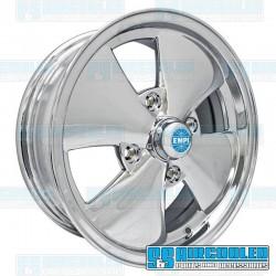 Wheel, 4-Spoke, 15x5.5, 4x130 Pattern, Chrome