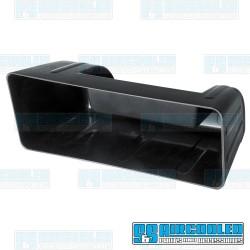 Glove Box, Black Plastic, Hidden Stereo