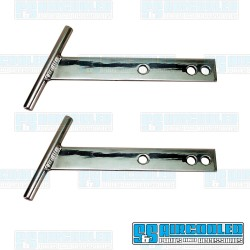 T-Bars, Front or Rear, Aluminum, Polished, EMPI