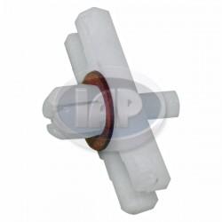 Molding Clip, Body Molding, Plastic, 100pcs