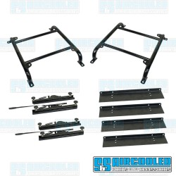 Seat Mount Kit, 4in. Tall, Slider & Slider, Universal, Race Trim