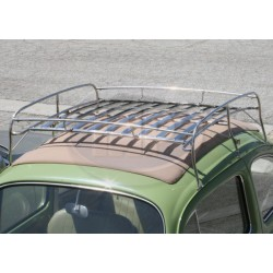 Roof Rack, Knock Down Style, Stainless Steel with Stainless Steel Slats