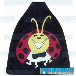 Floor Mats, Lady Bug, Front, Left & Right, Rubber, EMPI
