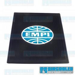 Floor Mats, EMPI Logo, Rear, Left & Right, Rubber, EMPI