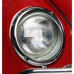 Headlight Assembly w/Clear Lens