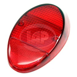 Lens, Tail Light, Red/Red, US Style, Left or Right