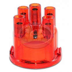 Distributor Cap, Red, Replaces 03010/1 235 522 056
