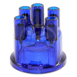 Distributor Cap, Blue, Replaces 03010/1 235 522 056
