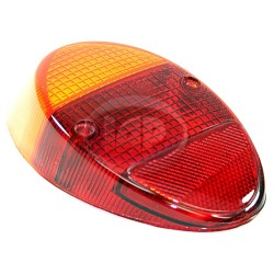 Lens, Tail Light, Amber/Red, Euro Style, Left or Right