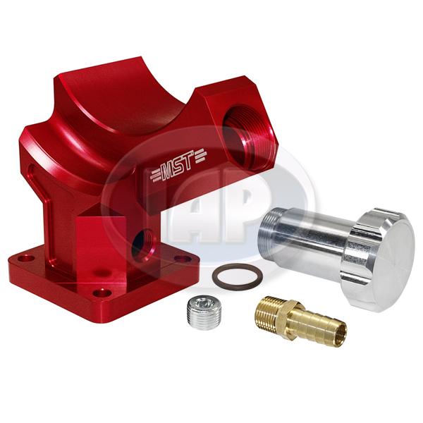 Stand, Alternator or Generator, Billet Aluminum, Red, MST