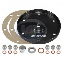 Sump Plate, Billet Aluminum, Black