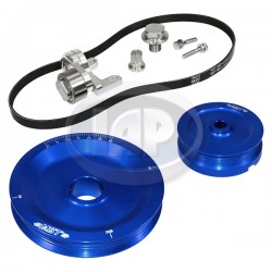 Serpentine Pulley Kit, The Original, Blue