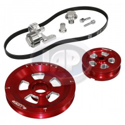 Serpentine Pulley Kit, Renegade, Red, MST