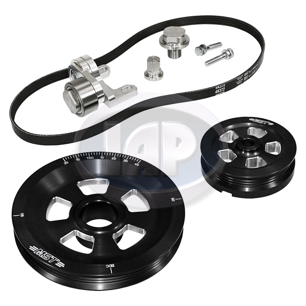 Serpentine Pulley Kit, Renegade, Black, MST
